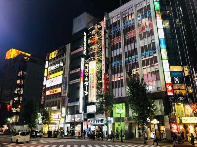 Night Shopping in Shibuya