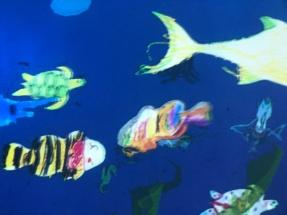 ...und der schnelle Fisch der kleinen Dame