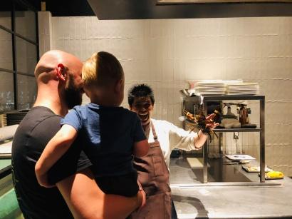 Der Koch und der Bube waren angetan, der Hummer und die kleine Dame nicht so sehr