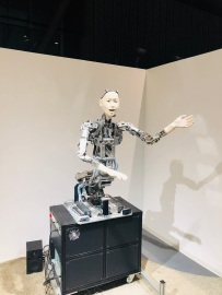 Immer ein bisschen gruselig: humanoide Roboter