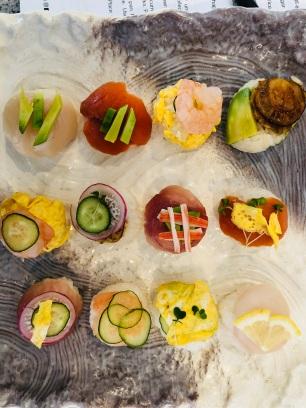 Themari Sushi im Kurs...